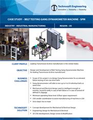 Belt Testing Gang Dynamometer Machine - (Special Purpose)