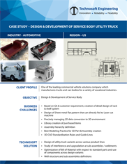 Design Development - KN - Service Body n Utility truck