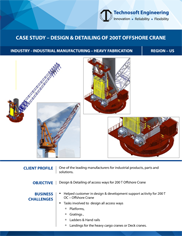 Design & Detailing of 200T Offshore Crane