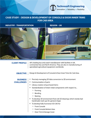 Design & Development Of Console & Door Inner Trims