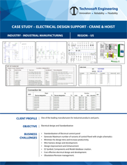 Electrical Design Support - Crane & Hoist