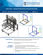 Machine Design Design Optimisation of machine