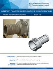 Parametric Cad Data Creation of Hydraulic Couplings