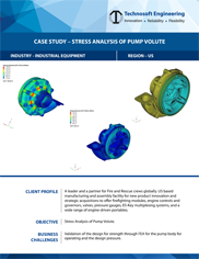 Stress Analysis of Pump Volute