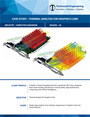Thermal Analysis for Graphics Card
