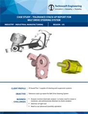 Tolerance Stack-up Report for Belt Drive Steering System
