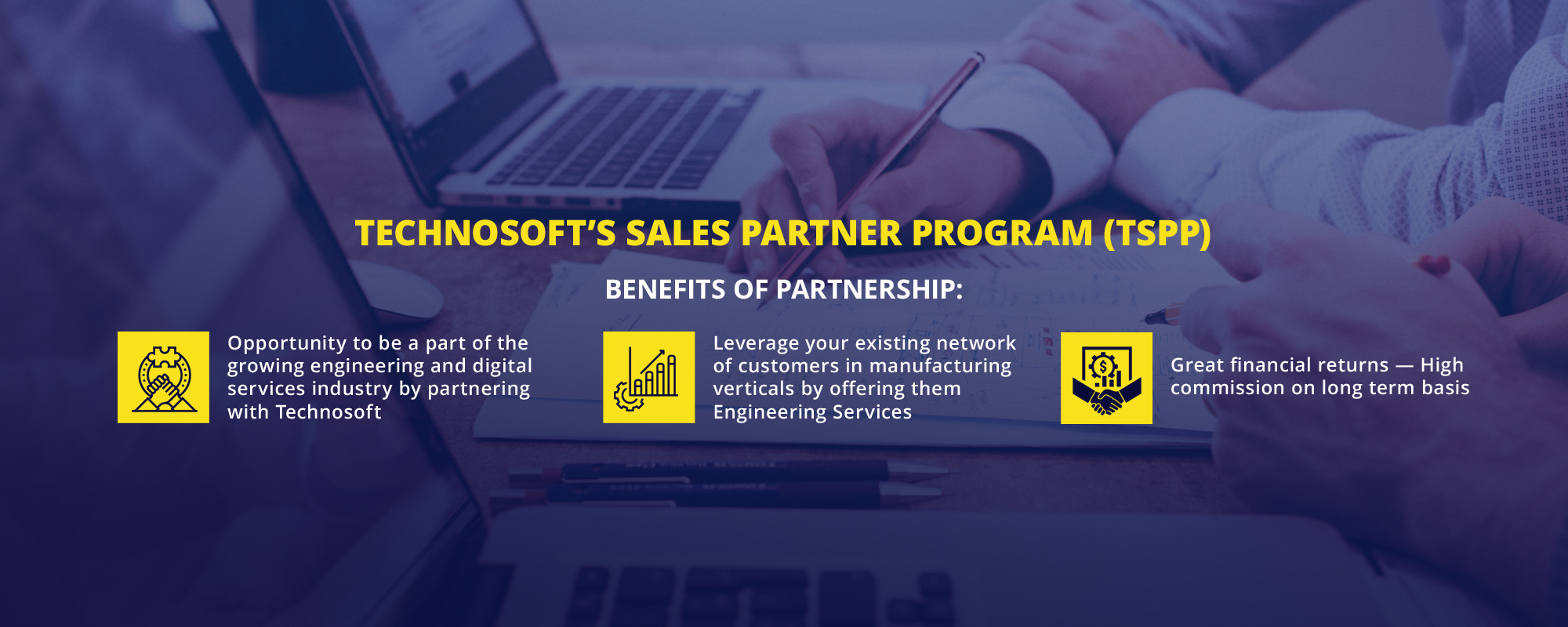 Technosoft's Sales Partner Program (TSPP)