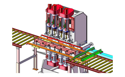 Design of MultiSpindle Rail Drilling Machine